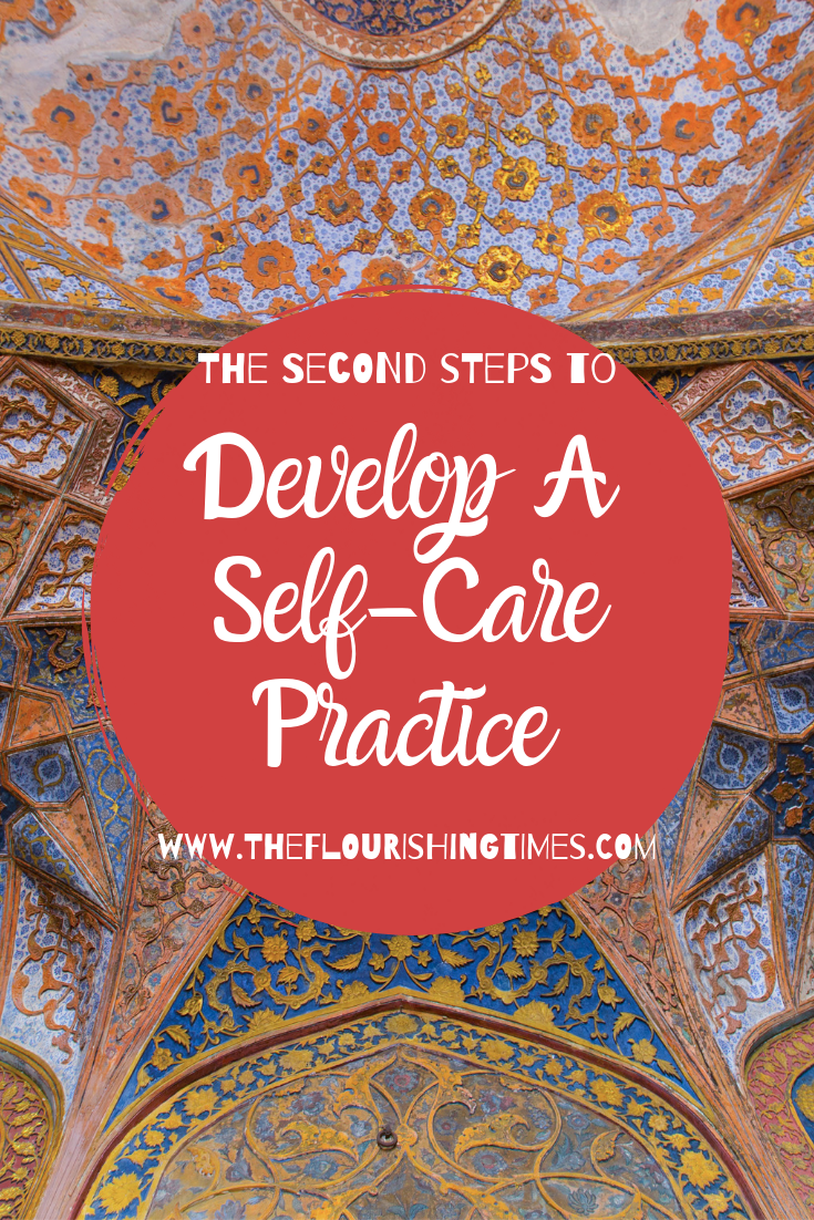 The Second Steps to Develop a Self-Care Practice